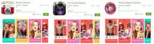 Google Playで確認された不正なカメラアプリ